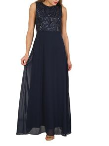 Izabel London Sequin Evening Gown