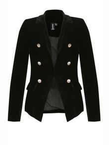 Izabel London Velveteen Vintage Style Jacket