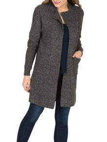 Izabel London Longer-Length Peasant Cardigan