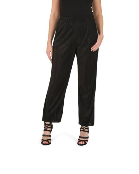 Izabel London Crepe Demi-Flare Trousers