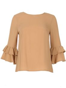 Izabel London Layer Cuff Top