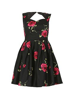 Sweetheart Floral Prom Dress