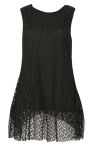 Izabel London Netted Sleeveless Top