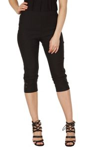 Izabel London Knee-Length Crop Trousers