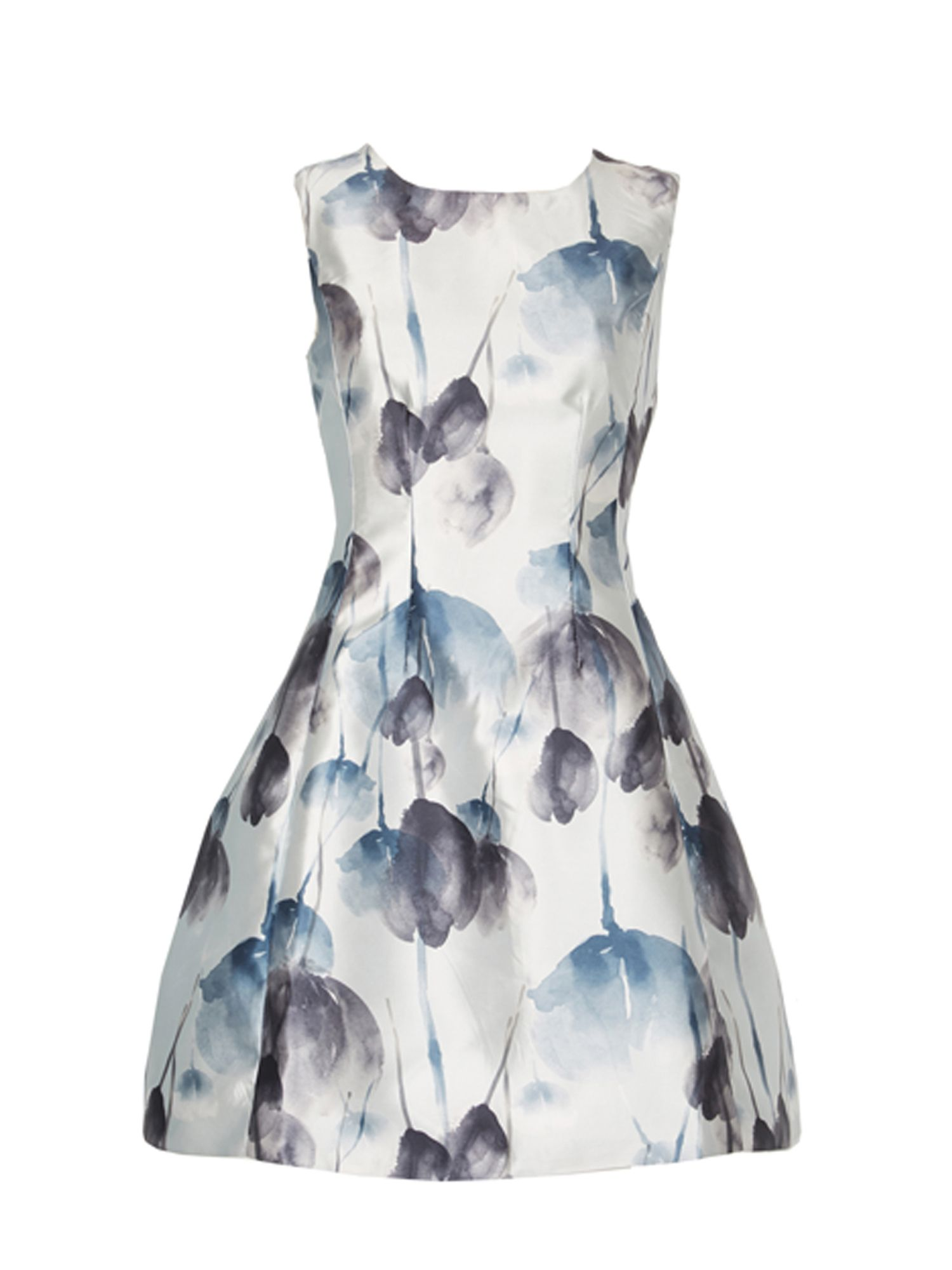 Izabel London Tulip Field Vintage Dress MultiColoured