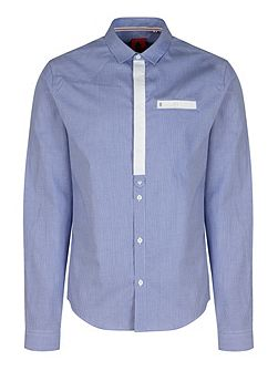 Reece Contrast Placket Shirt