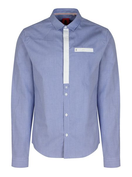 Luke 1977 Reece Contrast Placket Shirt
