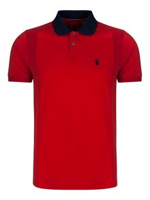 Luke 1977 2 Bob Note Mixed Fabric Polo
