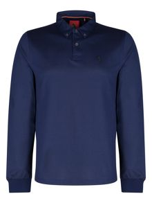 Luke Joe Smashs Long Sleeve Polo Shirt