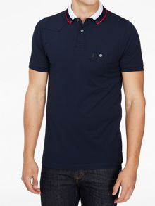 Luke 1977 Airbright stripe collar detail polo