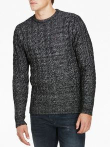Luke 1977 Newarton Cable Knit Jumper