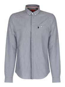 Luke 1977 Baileys Long sleeve Button Down Collar Shirt