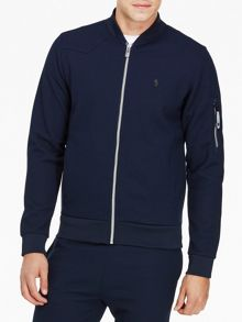 Luke 1977 Terras Zip Up Bomber Sweatshirt