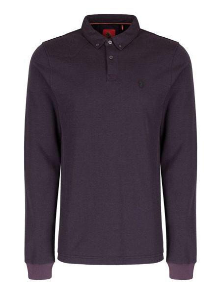 Luke 1977 Smasher long sleeve polo shirt