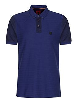 Happy Days Hem Placket Detail Polo Shirt