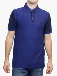Luke 1977 Happy Days Hem Placket Detail Polo Shirt
