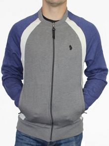 Luke 1977 Bodenham Zip Through Sweatshirt