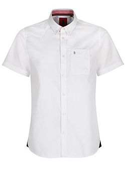 Adam Keyte S/S Baseball Collar Shirt