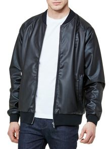 Luke 1977 Caperwowme Mixed Fabric Bomber