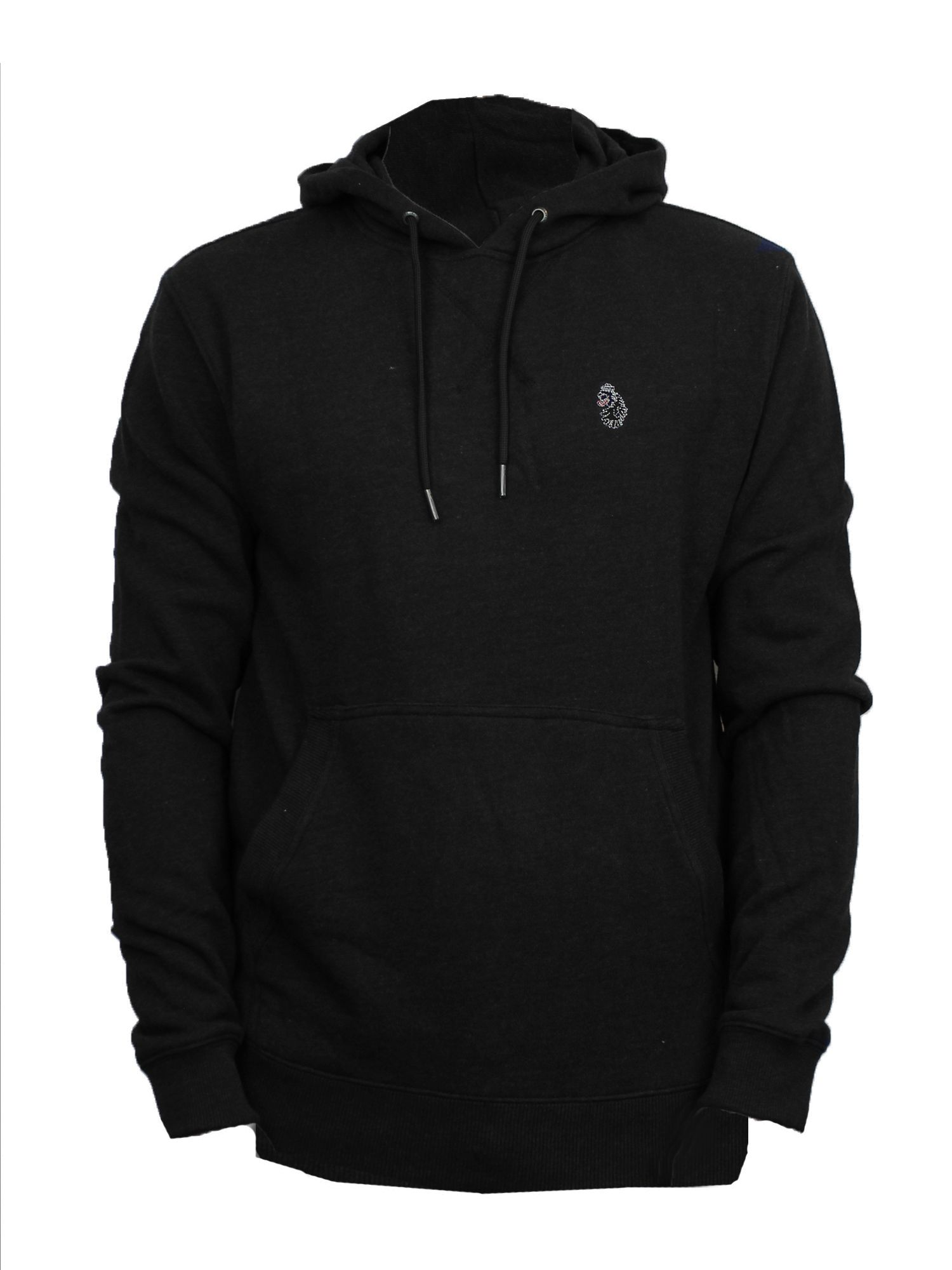 Men's Luke 1977 Neptune pull over hoodie, Black