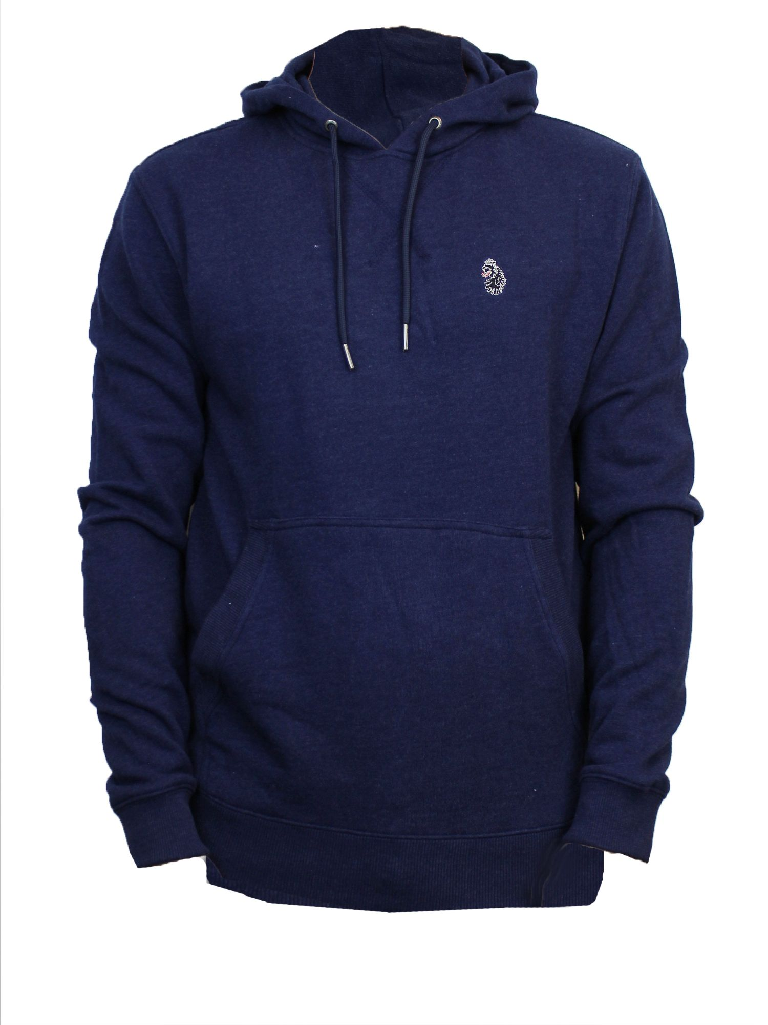 Men's Luke 1977 Neptune pull over hoodie, Indigo