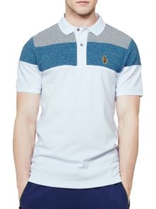 Luke 1977 Mickey Spacer Luke Sport Striped Polo
