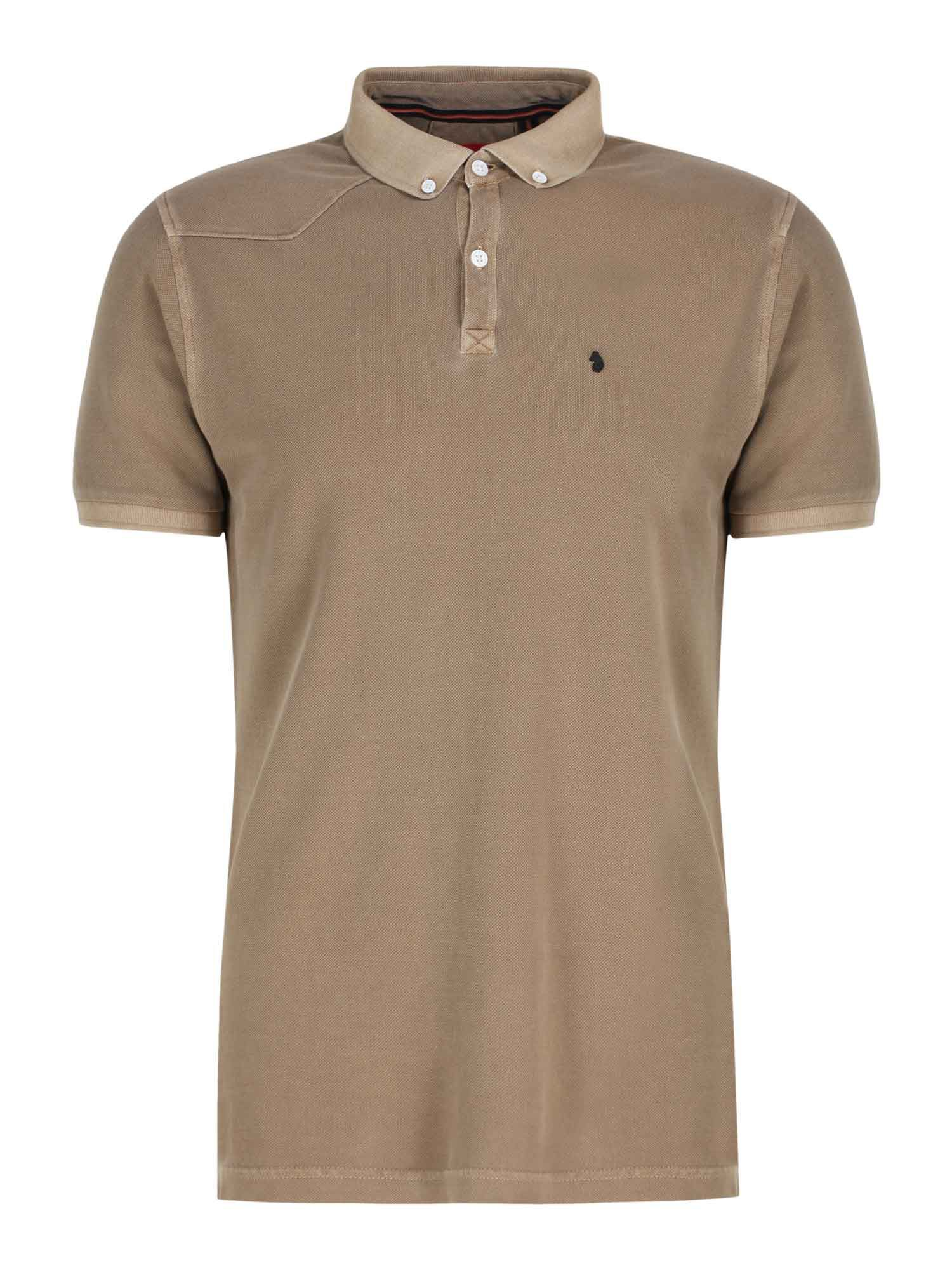 Men's Luke 1977 Basking Garment Dyed Polo Shirt, Sand
