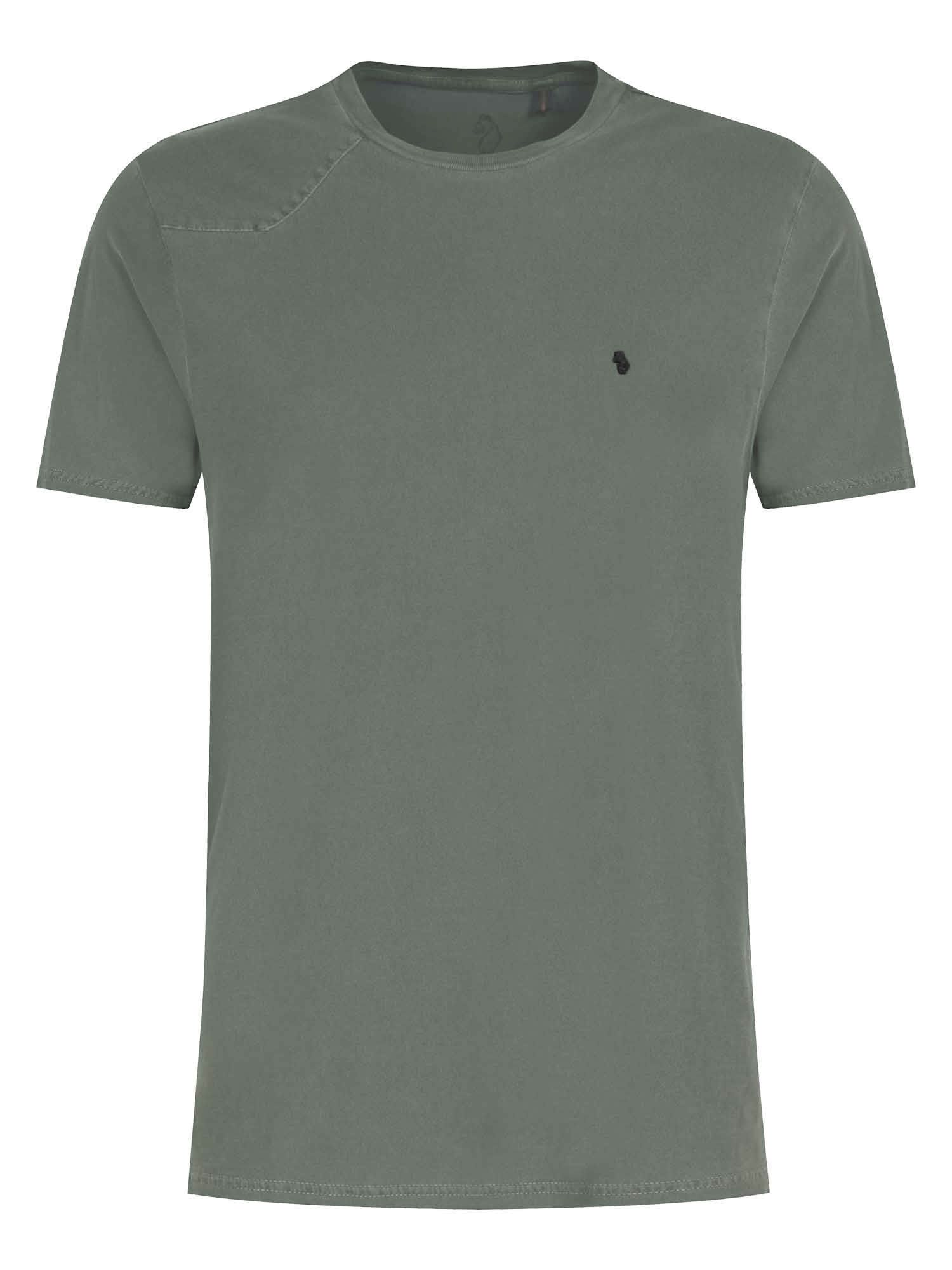 Men's Luke 1977 Hammerhead Dyed Crew Neck T-Shirt, Moss