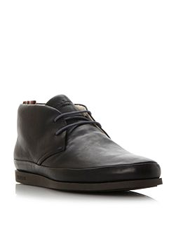 Loomis contrast lace chukka boots