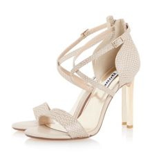 Dune Mojito metal heel strappy sandals