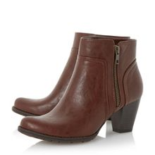Peake side zip ankle boot