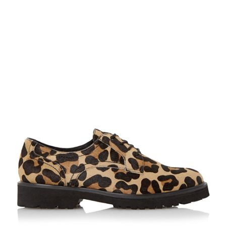 Dune Filipo chunky sole lace up derby shoe