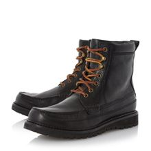 Willingcott  Apron Stitch Leather Boot