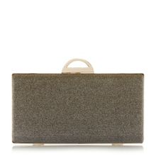 Bex lurex clutch bag