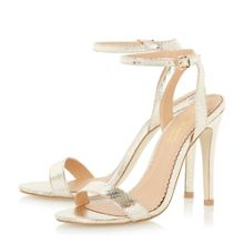 Head Over Heels Madam two part high heel strappy sandals