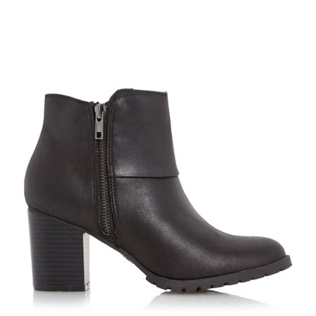 Head Over Heels Perfect cleated sole block heel boots