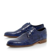 Rainforest Crocodile Lace Up Formal Gibson Shoes