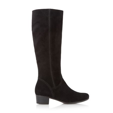 Gabor Toye suede knee high flat boots