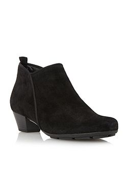 Trudy asymmetric ankle boots