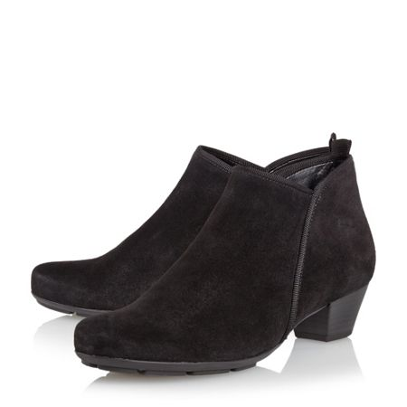 Gabor Trudy asymmetric ankle boots