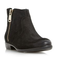 Popple side zip suedel ankle boots