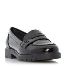 Gleat cleated sole penny loafers