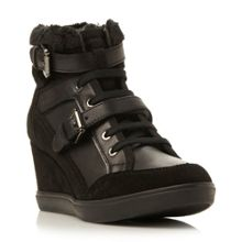 Geox Eleni warm lined buckle wedge