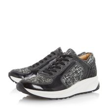 Eddee tweed mix trainers