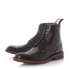 Airton leather brogue boots