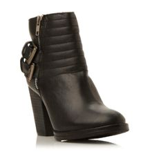 Yakk  buckle detail low boots