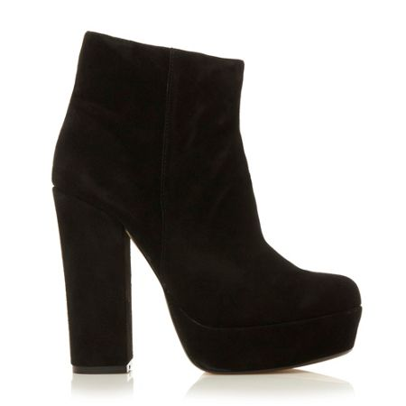 Steve Madden Joanie chunky heel low boots