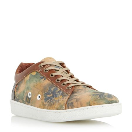 Dune Tropicana Lace Up Casual Trainers