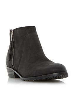 Pickard side zip ankle boots