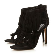 Fringly fringed dressy sandals